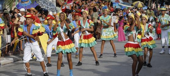 Carnival Bayamo Cuba